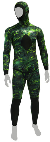 Epsealon Green Fusion Wetsuit 1.5 mm /  3mm / 5mm