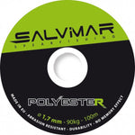 Salvimar Polyester Core Reel Line Dyneema 1.7mm  200 lb/ 90 kg P/P Foot