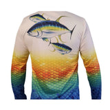 UV Microfiber Moisture Wicking Fishing Long-Sleeve shirt