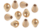 Salvimar Ergonomic Brass Spheres for Bridles: Wishbone