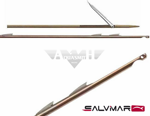 Salvimar Laser Blade 7mm shaft w/ 3-shark fin tab