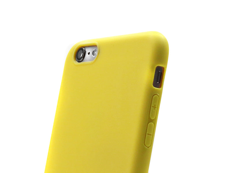 Funda Second Skin para Apple iPhone 6 Plus/6S Plus Amarillo