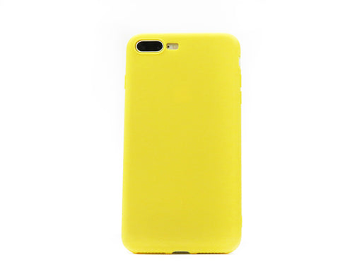 Funda Second Skin para Apple iPhone 7 Plus/8 Plus Amarillo