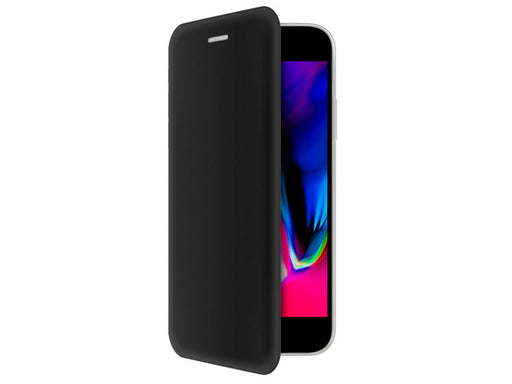 Funda tipo cartera iPhone 7P/8P 4-OK, Negro