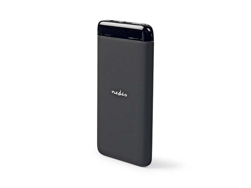 Power Bank 6000mAh Nedis Negro