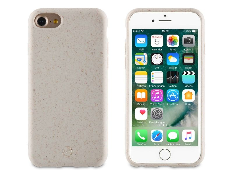 Funda iPhone 6/6S/7/8 Eco-Friendly (Blanco)