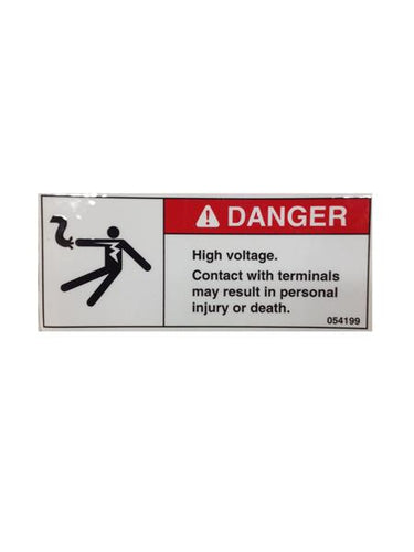 Generac Decal Danger High Voltage Part# 054199