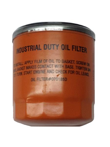 Generac 070185BS OIL FILTER 75mm Orange Replaces 070185D