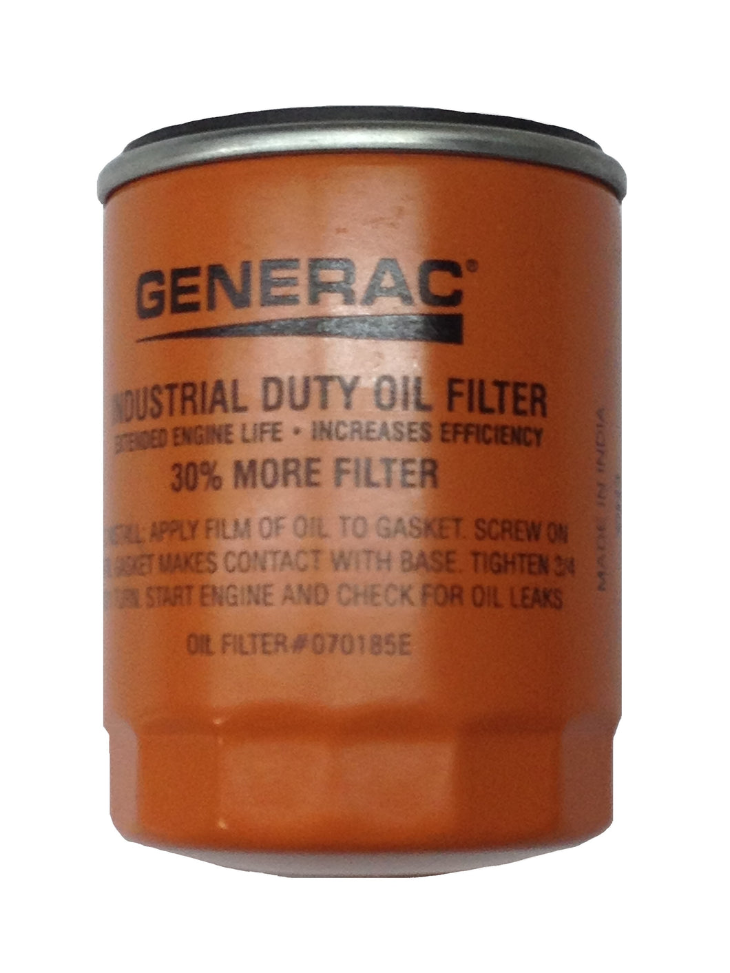Generac 90 Pack Of 070185ES Oil Filter Part# 070185E90PK