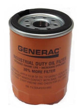 Load image into Gallery viewer, Generac 070185E OEM Generator Oil Filter 070185ES Orange