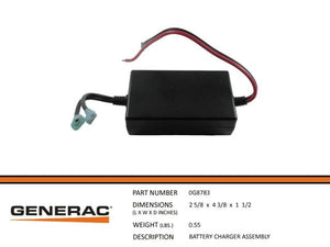 Generac Guardian  BATTERY CHARGER ASSEMBLY  0G8783