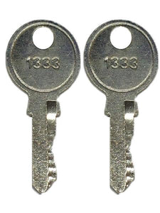 Generac 0D3037K KEY#1333 Set Of Two For 0D3037 Latch