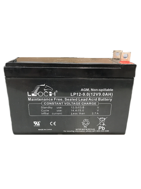 Generac 0G9449 Battery 12V 9AH Sealed Battery