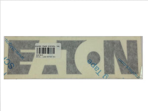 Generac Decal Logo Eaton 301 Part# 0H4761A