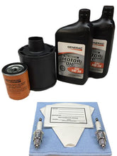 Load image into Gallery viewer, Generac 0J57660SSM 10kW Service Maintenance Kit with Synthetic Oil
