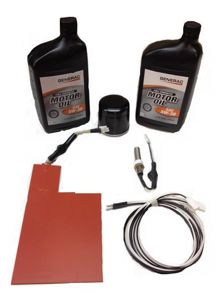 Generac CorePower Cold Weather Kit W/ 2 QT's of synthetic Generac motor oil Part# 0J579900CW