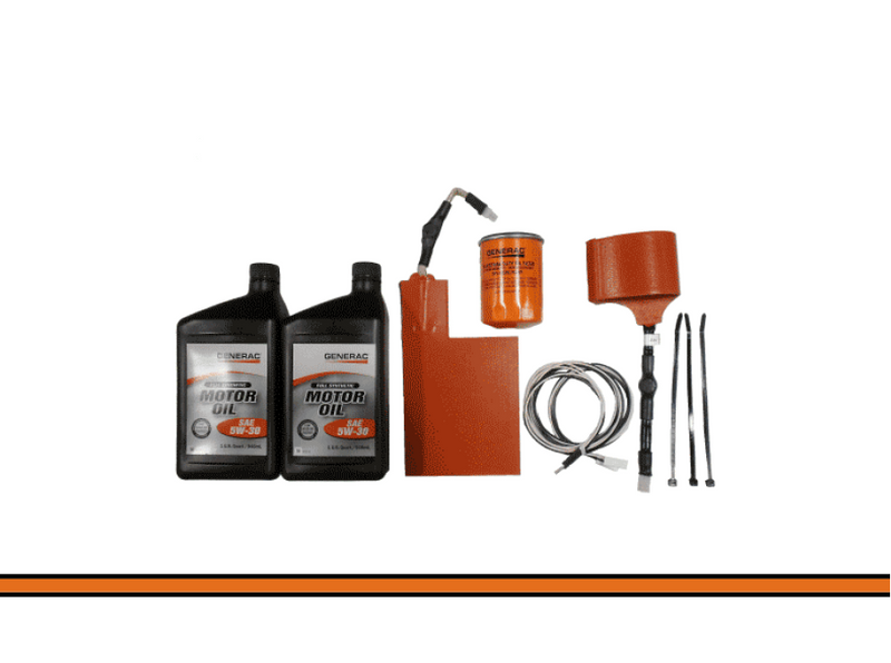 Generac Cold Weather A/C HSB KIT w/ Full Synthetic oil 12Pack Part
