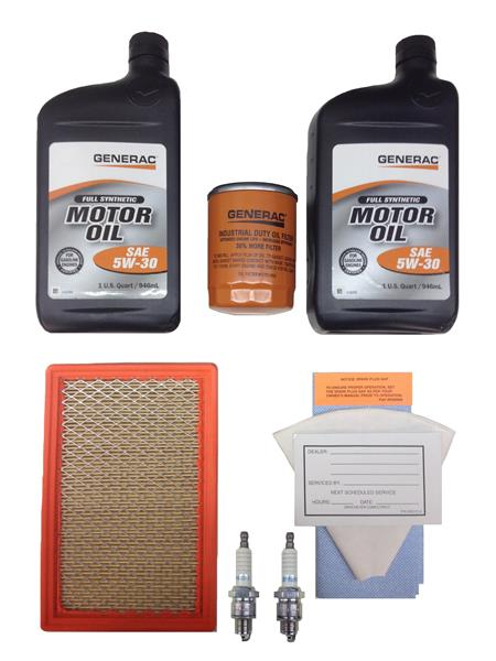 Generac Maintenance Kit 530 11KW 5W30 SYN EVLTN Part