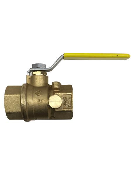 "Generac Ball Valve 1"" Pressure Rated W/ Test Port Part"