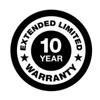 Generac 10-Year Extended Limited Warranty – Air-Cooled