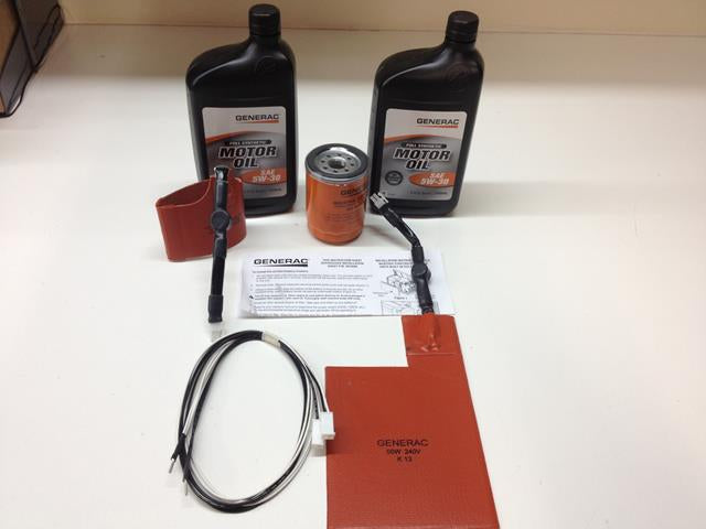 Generac Cold Weather A/C HSB KIT w/ oil  0J580000CW