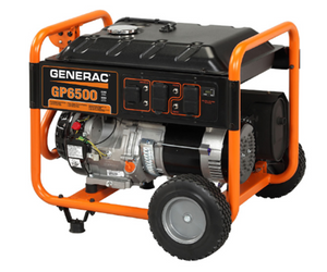 Generac GP6500 Watt Portable, 49-State Model# 5940