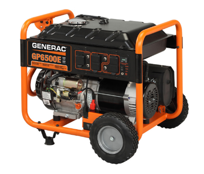 Generac GP6500E Watt Portable, 49-State Model