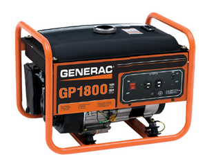 Generac GP1800 Watt Portable, 49/CSA Model# 5981