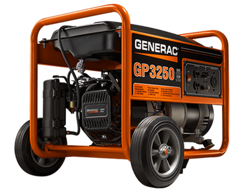 Generac GP3250 Watt Portable, 49/CSA Model# 5982