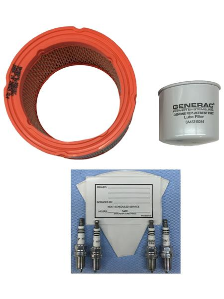 Generac Maintenance Kit 2.4L ENG G2 36KW Turbo Part
