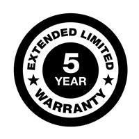 Generac 5-Year Extended Limited Warranty - Liquid-Cooled up to 60kW