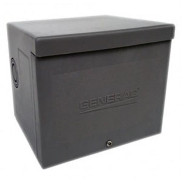 Generac 30 AMP RAINTIGHT RESIN POWER INLET BOX WITH FLIP LID 6340 14304