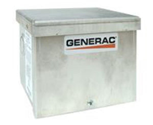 Generac 6343 - 30-Amp Raintight Aluminum Power Inlet Box (4-Prong)