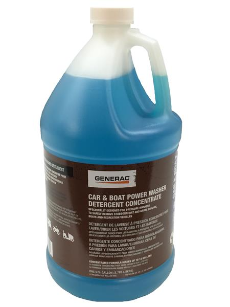 Generac Car And Boat Power Washer Detergent Concentrate 1 Gallon Part