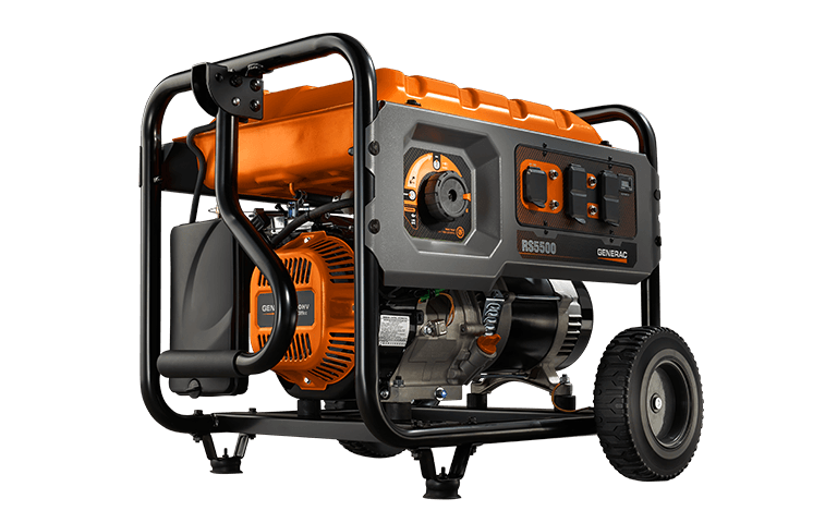 GENERAC RS SERIES 5500 PORTABLE GENERATOR 6674