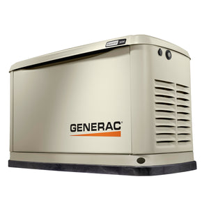 Generac 16 kW Air-Cooled Standby Generator With Bisque Aluminum enclosure ( Unit Only) Model # 7035