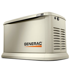 Generac 22 kW Air-Cooled Standby Generator With Bisque Aluminum (Unit Only)  Model # 7042