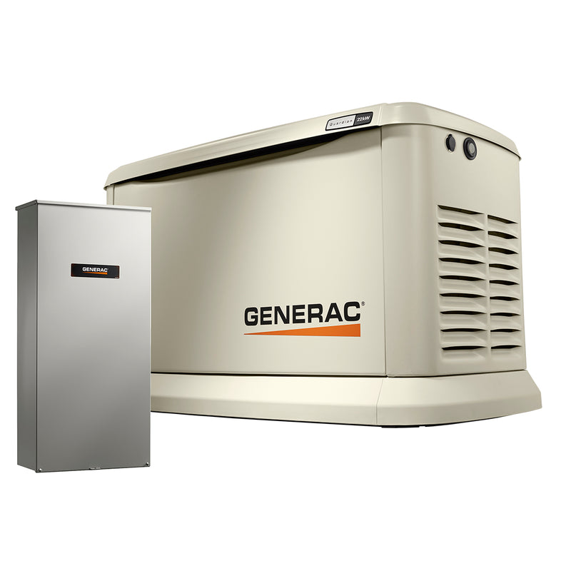 Generac 22 kW Air-Cooled Standby Generator With Aluminum enclosure & 200A SE ATS  Model