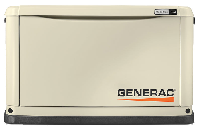 Generac Guardian® 14kW Aluminum Standby Generator System (200A Service Disconnect + AC Shedding) w/ Wi-Fi