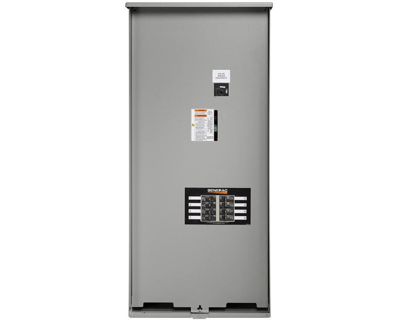 Generac Whole House 200 AMP service Rated NEMA 3 with 8 Circuit Load Center RXSW200A3F