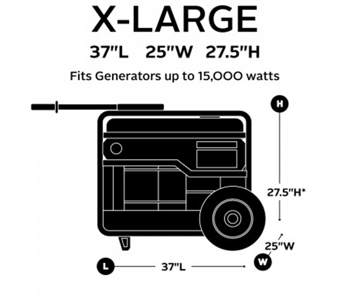 Classic Accessories X-Large Generator Cover 79547