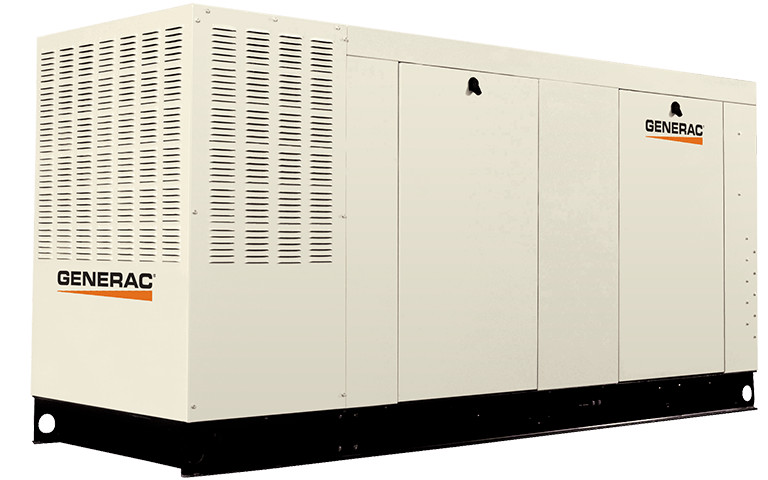 Generac QT10068ANAC Liquid-Cooled 6.8L 100kW 120/240V Single Phase NG Aluminum Generator