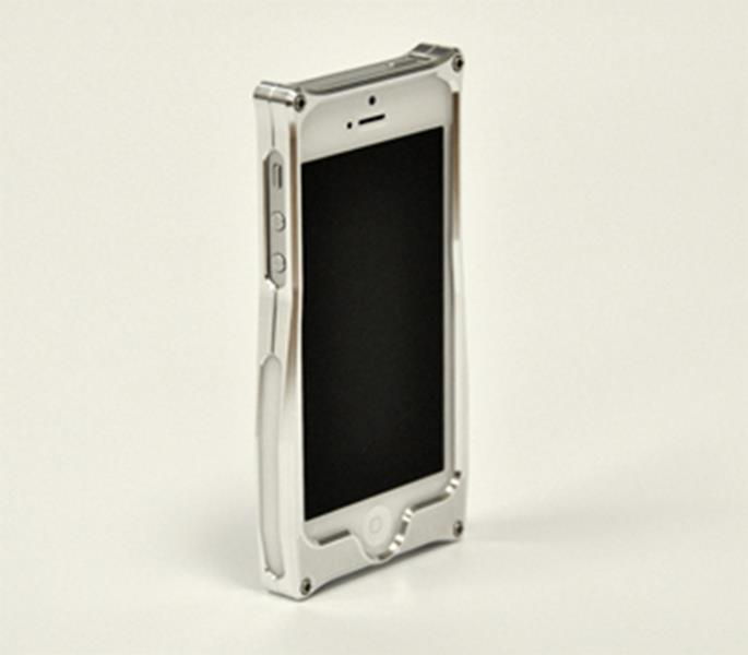 MeeMojo iPhone 5 Legend series Billet Aluminum Case Color Billet Alloy Pearl