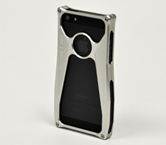 MeeMojo iPhone 5 Legend series Billet Aluminum Case Color Bright Natural Classic