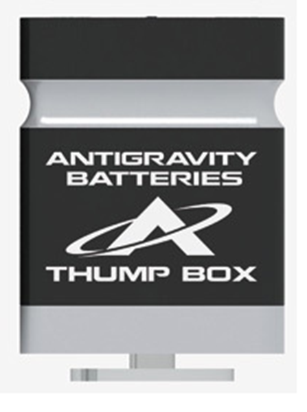 Antigravity Batteries Thump-Box Mini Bluetooth Speaker For Cell Phones Model