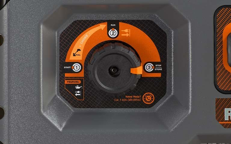 GENERAC <strong>RS SERIES 5500</strong> PORTABLE GENERATOR