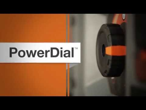 PowerDial STARTUP WITH THE TURN OF A DIAL