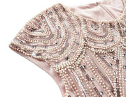 PrettyGuide Women's 1920s Flapper Dress Crystal Sequin Embellished Fringed Gatsby Dress