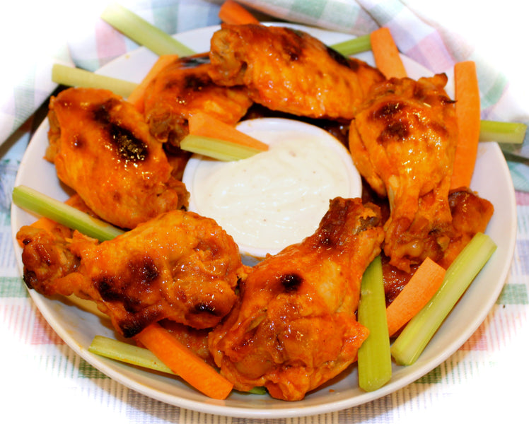 ~ Making Slow-Cooker Buffalo-Style Chicken Wings ~