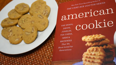 Butterscotch Pecan Wafers #FoodieReads